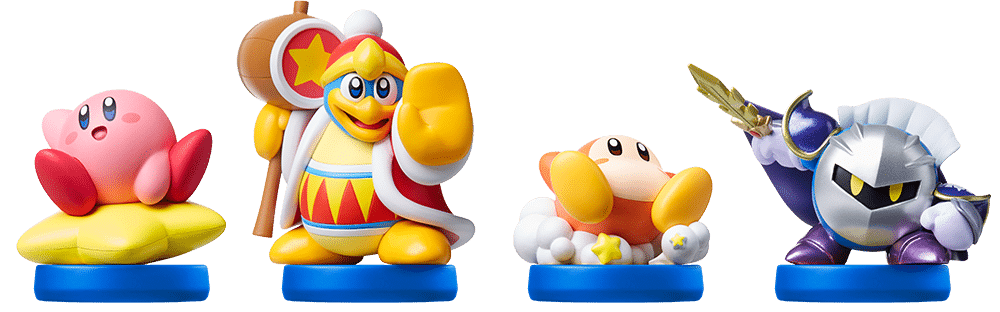 Super Kirby Clash Amiibo