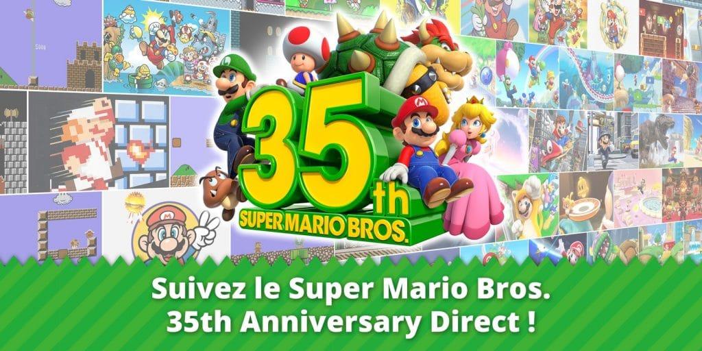 Super Mario Bros 35th Anniversary Direct