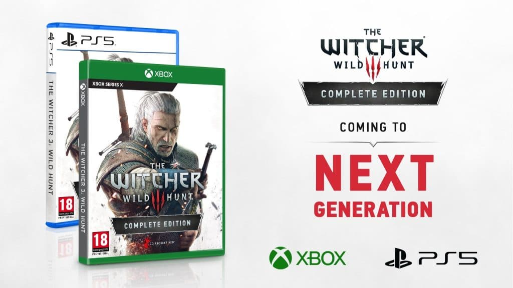 The Witcher 3 Complete Edition Xsx PS5