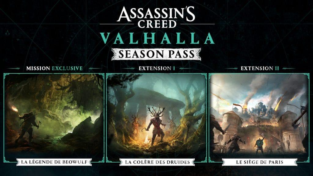 Assassins Creed Valhalla Season Pass