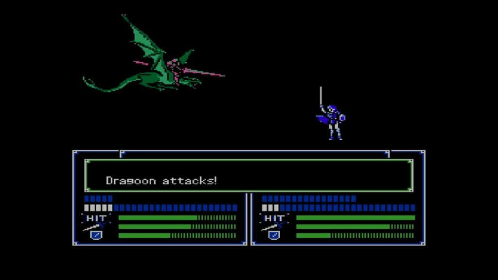 Fire Emblem Shadow Dragon Battle Dragoonattack