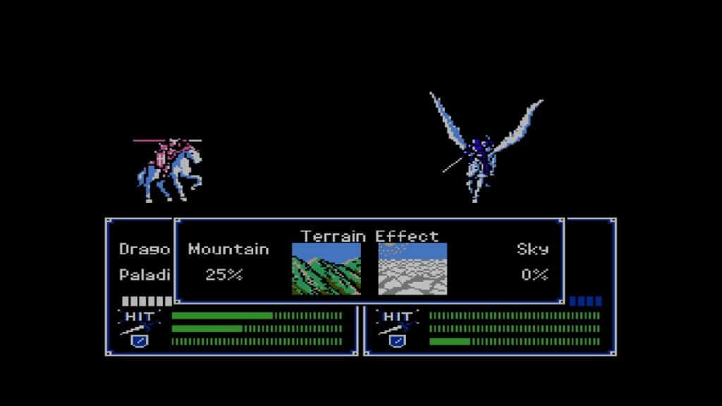 Fire Emblem Shadow Dragon Battle Terraineffect