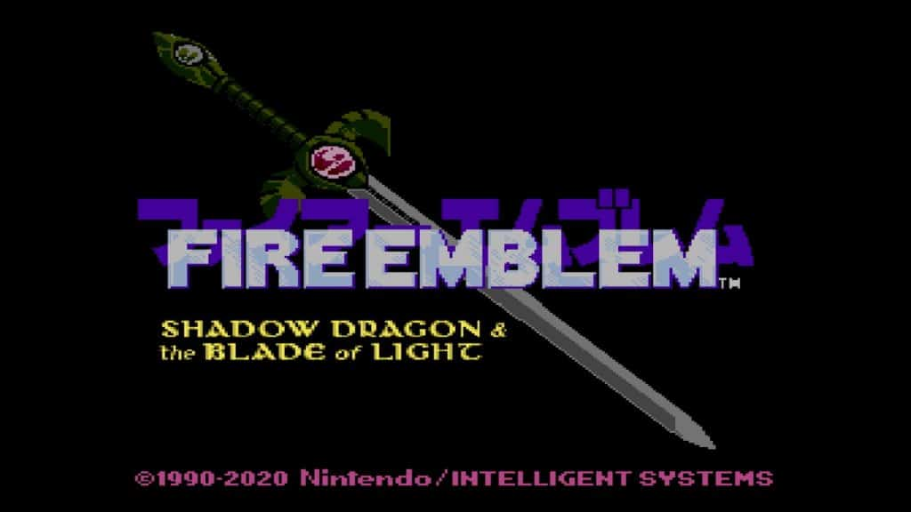 Fire Emblem Shadow Dragon Intro 02