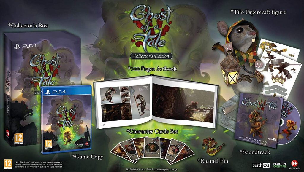 Ghost Of A Tale Collector PS4