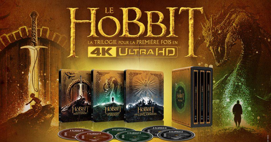 Le Hobbit Coffret Blu Ray 4k