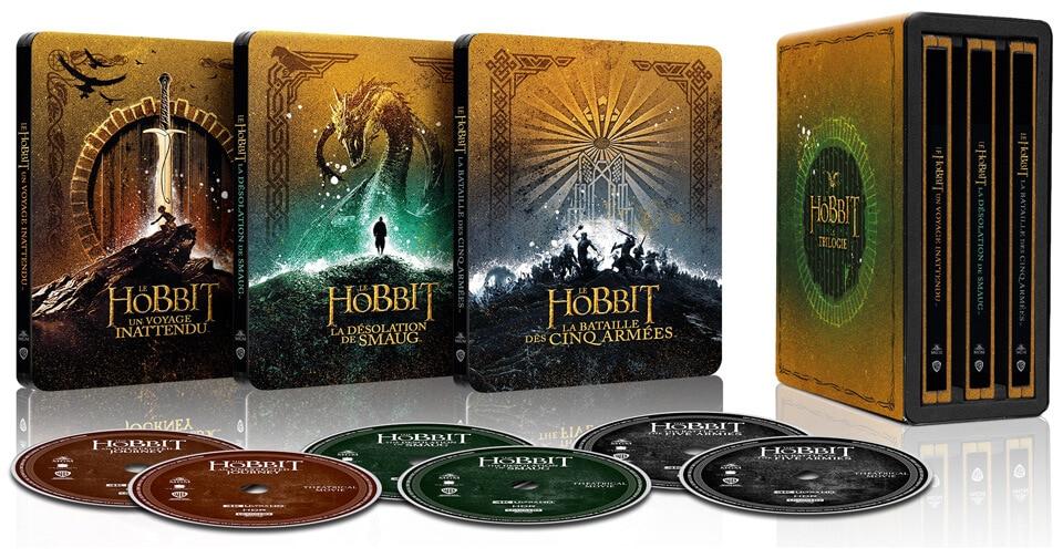 Le Hobbit Coffret Steebook 4k