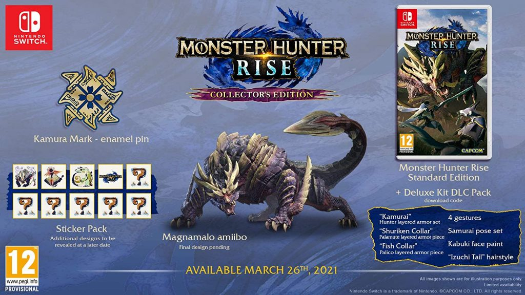 Monster Hunter Rise Edition Collector Switch