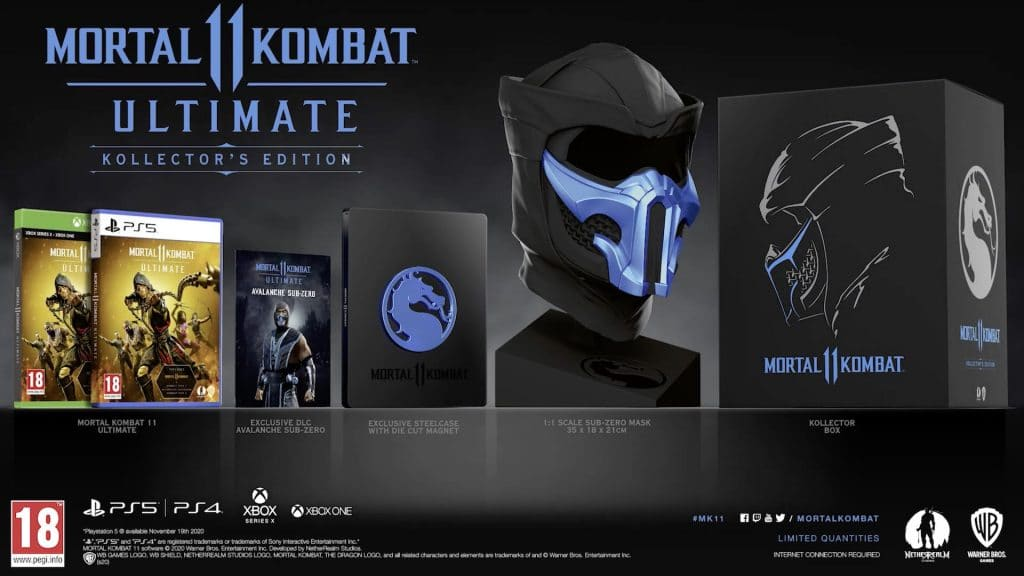 Mortal Kombat 11 Ultimate Edition Kollector
