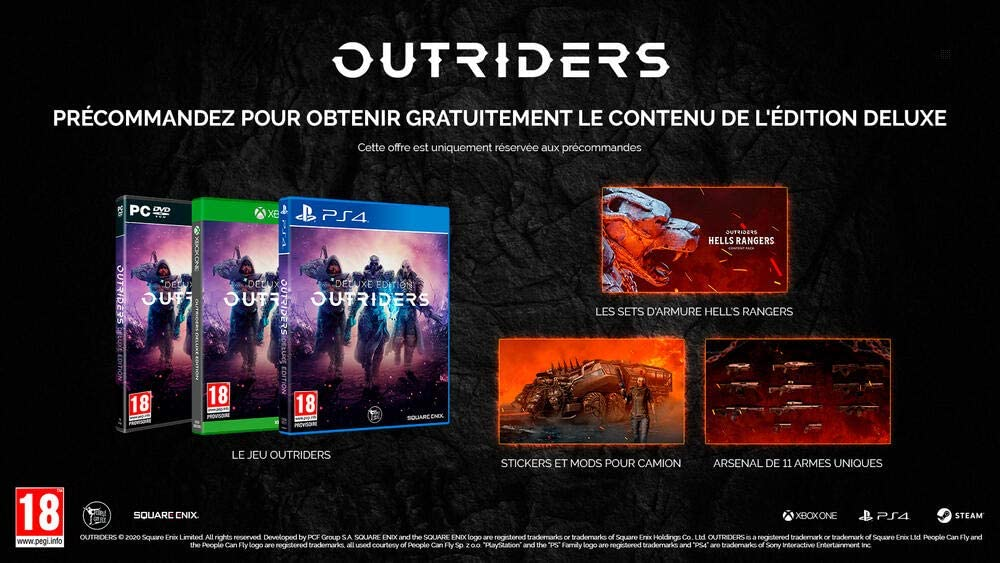 Outriders Edition Deluxe