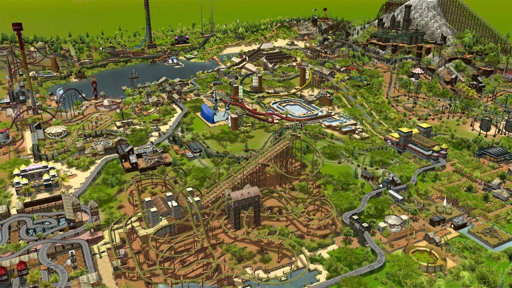 Rollercoaster Tycoon 3 Screen 01