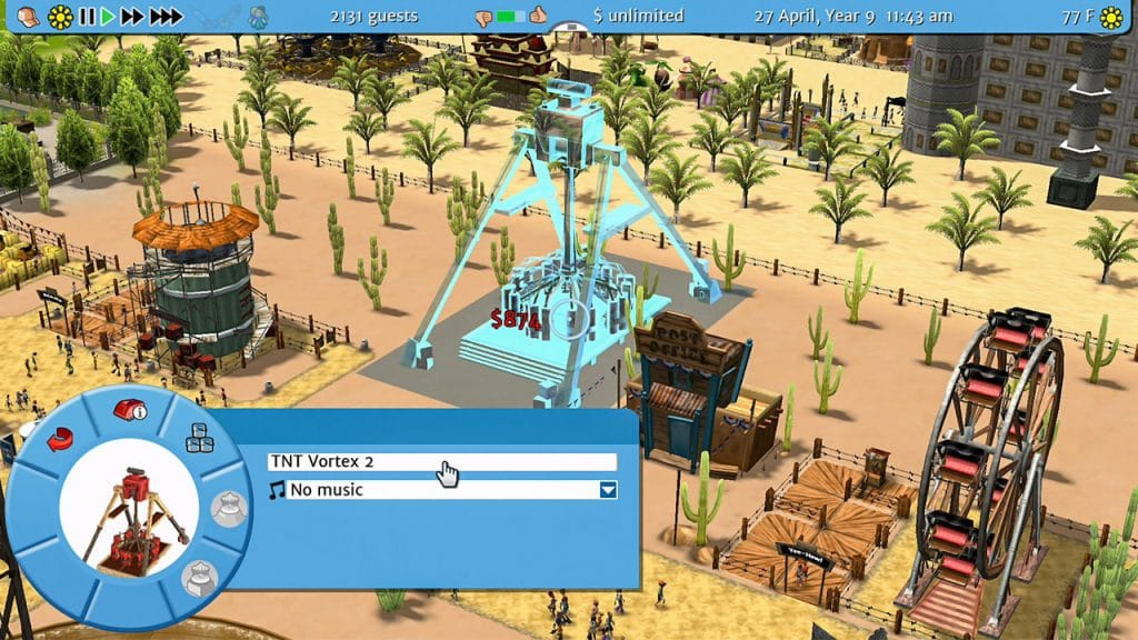 Rollercoaster Tycoon 3 Screen 05