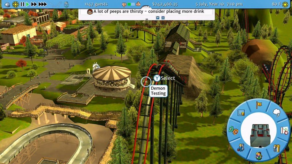 Rollercoaster Tycoon 3 Screen 06
