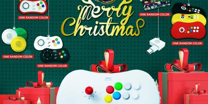 Snk Neogeo Arcade Stick Pro Edition Christmas
