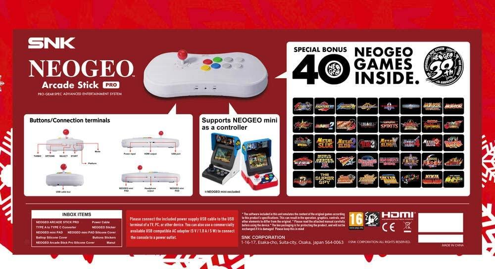 Snk Neogeo Arcade Stick Pro