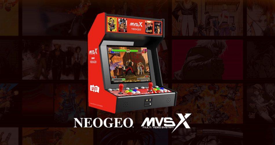 Snk Neogeo Mvsx Bartop Arcade