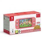 Pack Console Nintendo Switch Lite Corail Animal Croing New Horizon 3 Mois D Abonnement Nintendo Switch Online