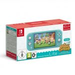 Pack Console Nintendo Switch Lite Turquoise Animal Croing New Horizon 3 Mois D Abonnement Nintendo Switch Online