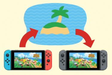 Animal Crossing New Horizons Transfert