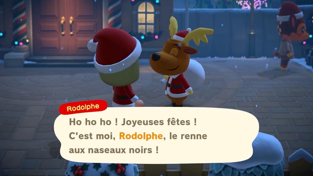 Animal Crossing New Horizons Winter Screen 03