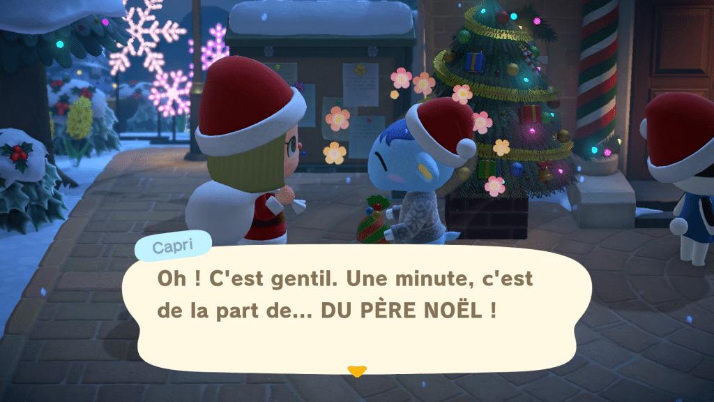 Animal Crossing New Horizons Winter Screen 04