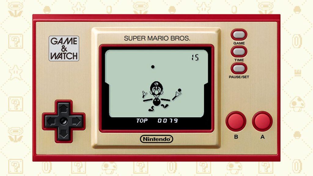 Game Watch Smb Ball Luigi