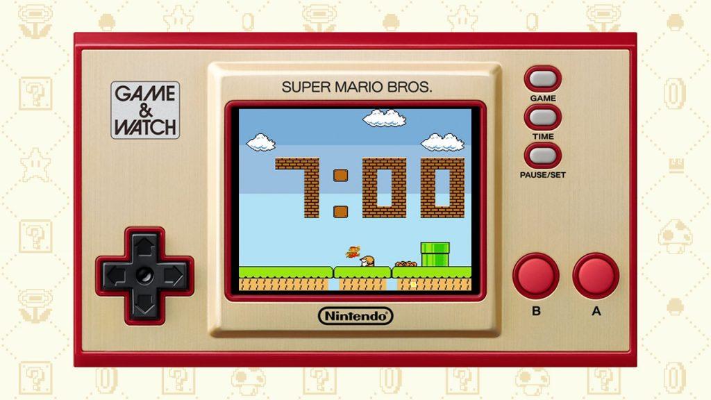 Game Watch Smb Horloge 1