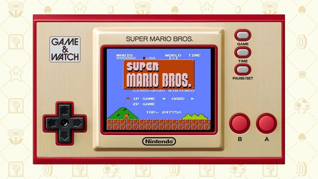 Game Watch Smb Super Mario Bros Mode Hard