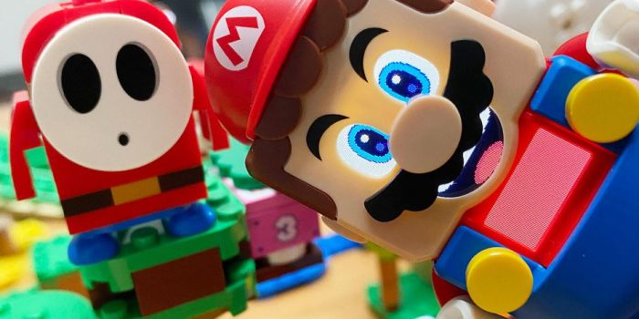 Lego Super Mario Closeup