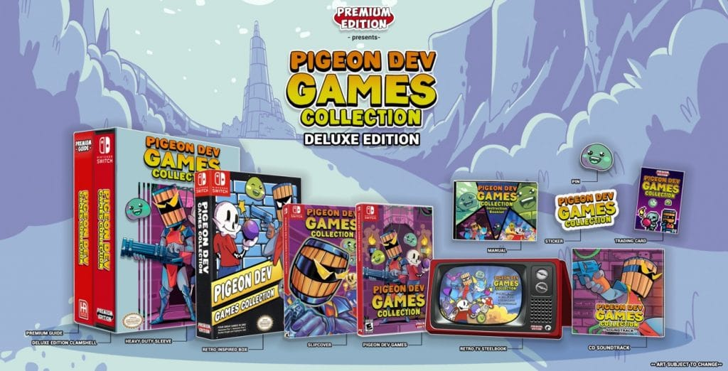 Pigeon Dev Games Collection Edition Deluxe Final