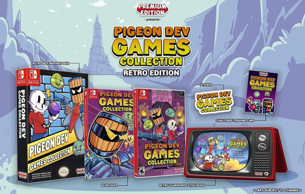 Pigeon Dev Games Collection Edition Retro