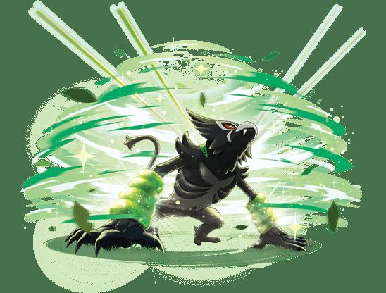 Pokemon Zarude Fight
