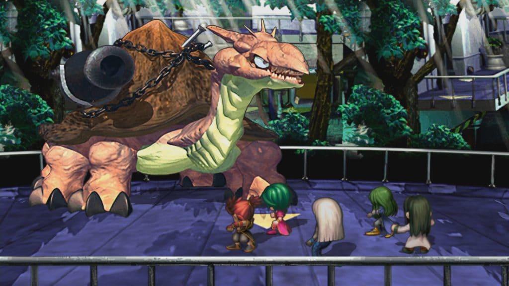 Saga Frontier Remastered Screen