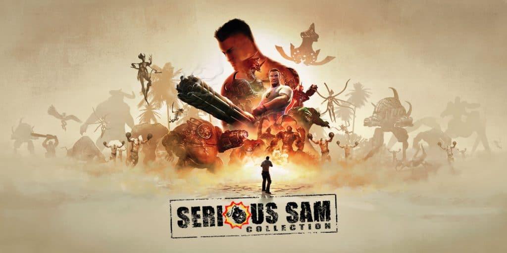 Serious Sam Collection Keyart