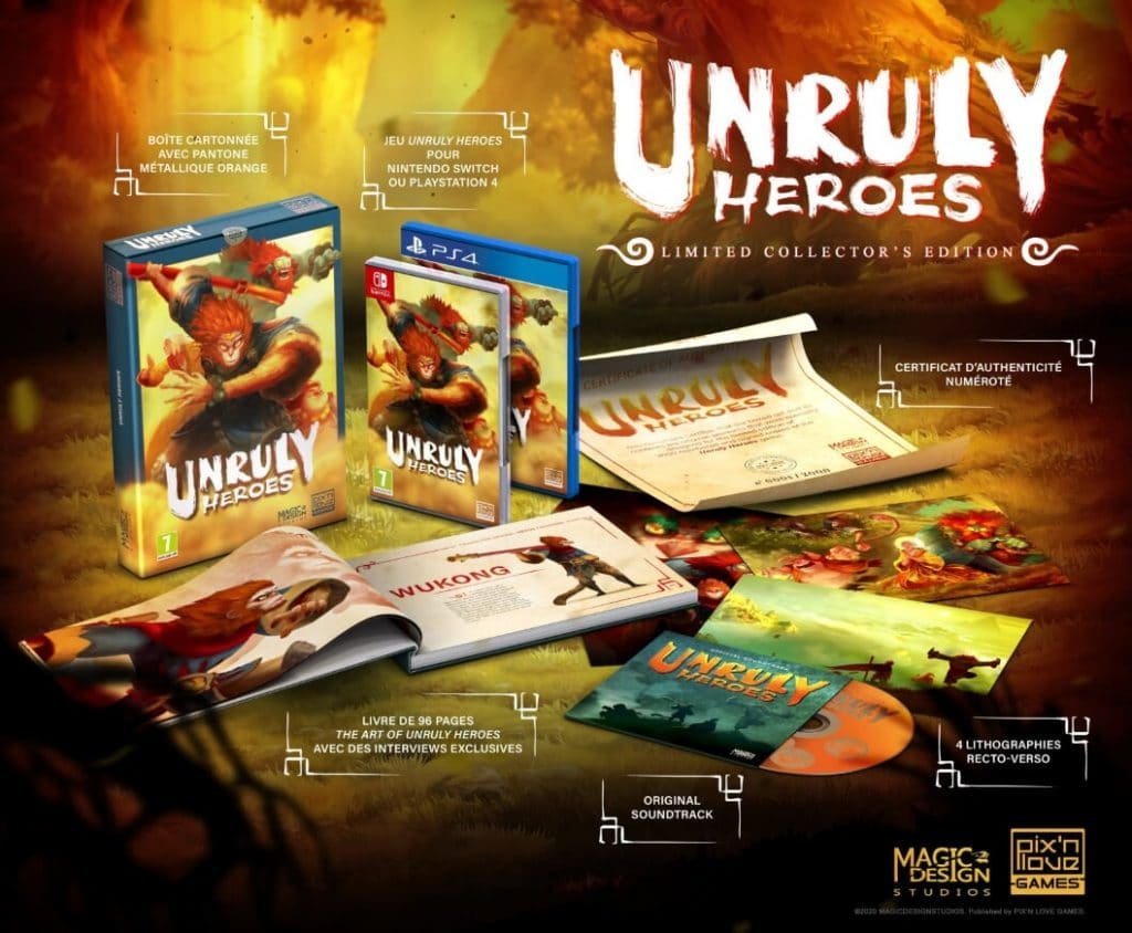 Unruly Heroes Edition Collector