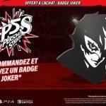 Badge Joker Persona 5 Strikers