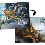 Bonus De Precommande Poster Bravely Default Ii Pour Nintendo Switch