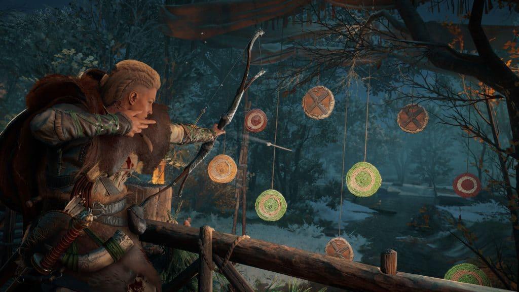 Assassins Creed Valhalla Saison Yule Archerycontest