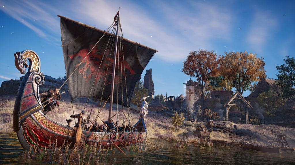 Assassins Creed Valhalla Saison Yule Riverraidlongboat