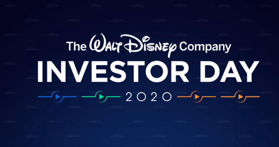 Disney Investor Day 2020