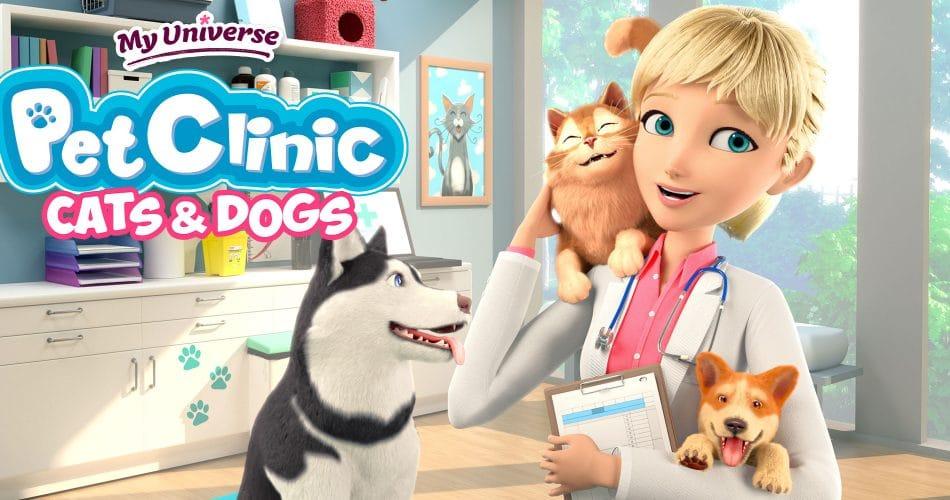 My Universe Pet Clinic Cats Dogs Keyart