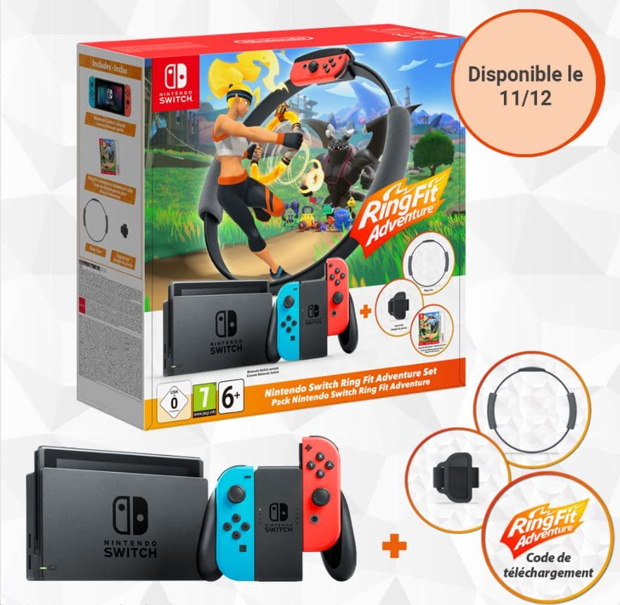 Nintendo Switch Neon Pack Ring Fit
