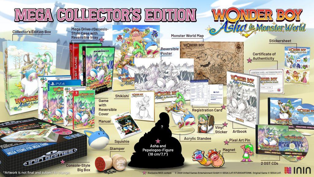 Wonder Boy Asha Edition Mega Collector