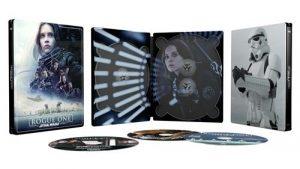 Rogue One A Star Wars Story Steelbook Exclusivite Fnac Blu Ray 4k Ultra HD