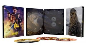 Solo A Star Wars Story Steelbook Exclusvite Fnac Blu Ray 4k Ultra HD