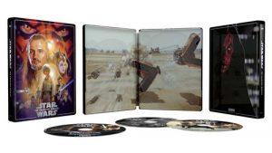 Star Wars Episode I La Menace Fantome Steelbook Exclusivite Fnac Blu Ray 4k Ultra HD