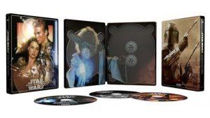 Star Wars Episode Ii L Attaque Des Clones Steelbook Exclusivite Fnac Blu Ray 4k Ultra HD