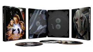 Star Wars Episode Iii La Revanche Des Sith Steelbook Exclusivite Fnac Blu Ray 4k Ultra HD