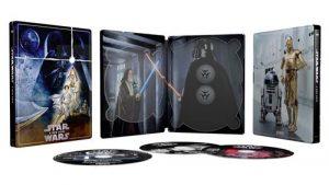 Star Wars Episode Iv Un Nouvel Espoir Steelbook Exclusivite Fnac Blu Ray 4k Ultra HD