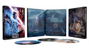 Star Wars Episode Ix L Ascension De Skywalker Steelbook Exclusivite Fnac Blu Ray 4k Ultra HD