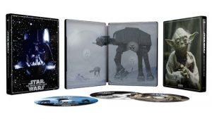 Star Wars Episode V L Empire Contre Attaque Steelbook Exclusivite Fnac Blu Ray 4k Ultra HD